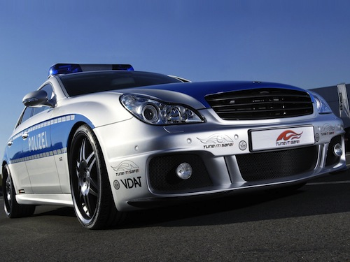 1. Brabus Rocket GÇô Polizei (Germany)