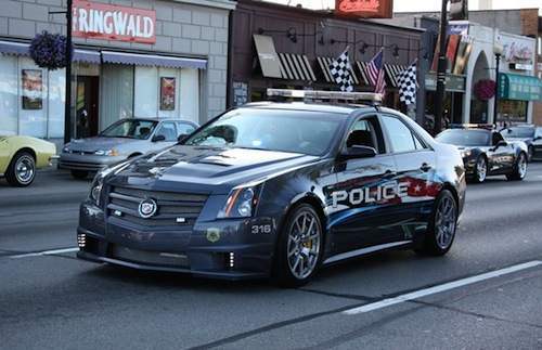 9.  Cadillac CTS-V GCO Bloomfield Township Police Department (EE.UU.)