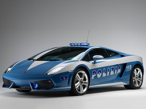 Fastest Police Cars In The World - Sports cars vs police