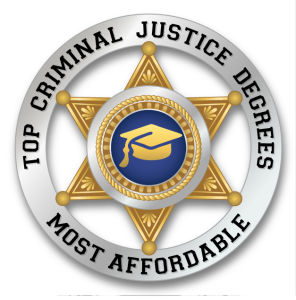 Badge - Top Criminal Justice Degrees