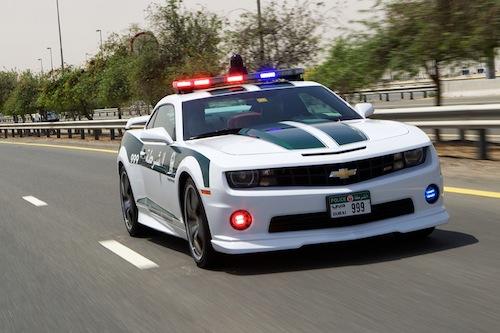 10. Chevrolet Camaro SS GÇô Dubai Police (UAE)