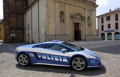 5. Lamborghini Gallardo LP560-4 GÇô Polizia di Stato (Italy)