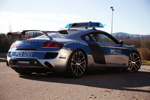 6. Audi R8 GTR GÇô Polizei (Germany)