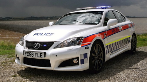 8. Lexus IS-F GÇô Humberside Police (UK)